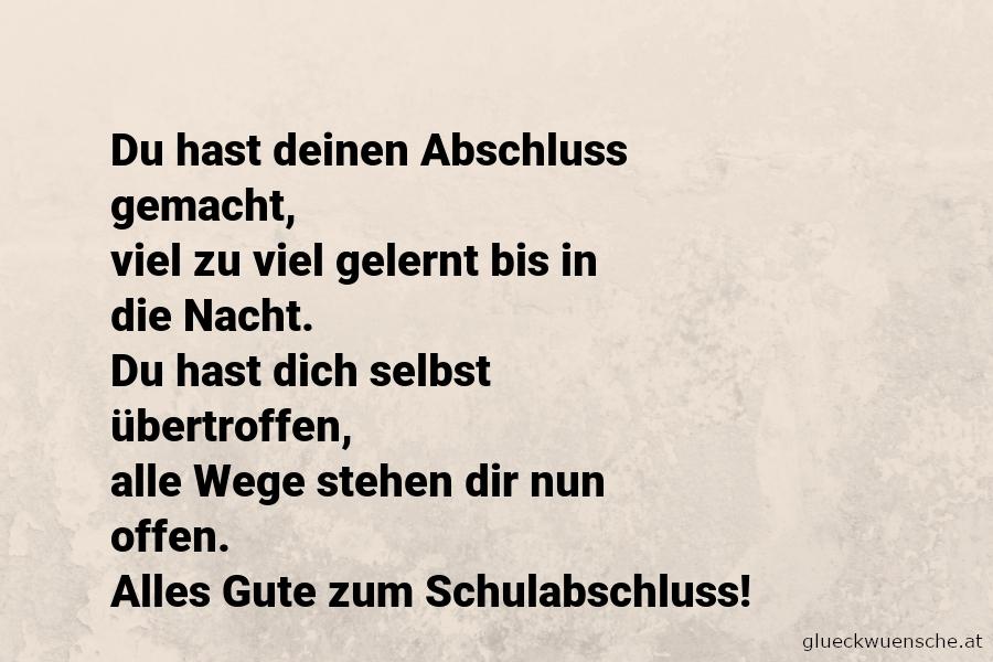 50 Gluckwunsche Zum Abitur Viel Gluck Spruche Zur Matura Und Zitate